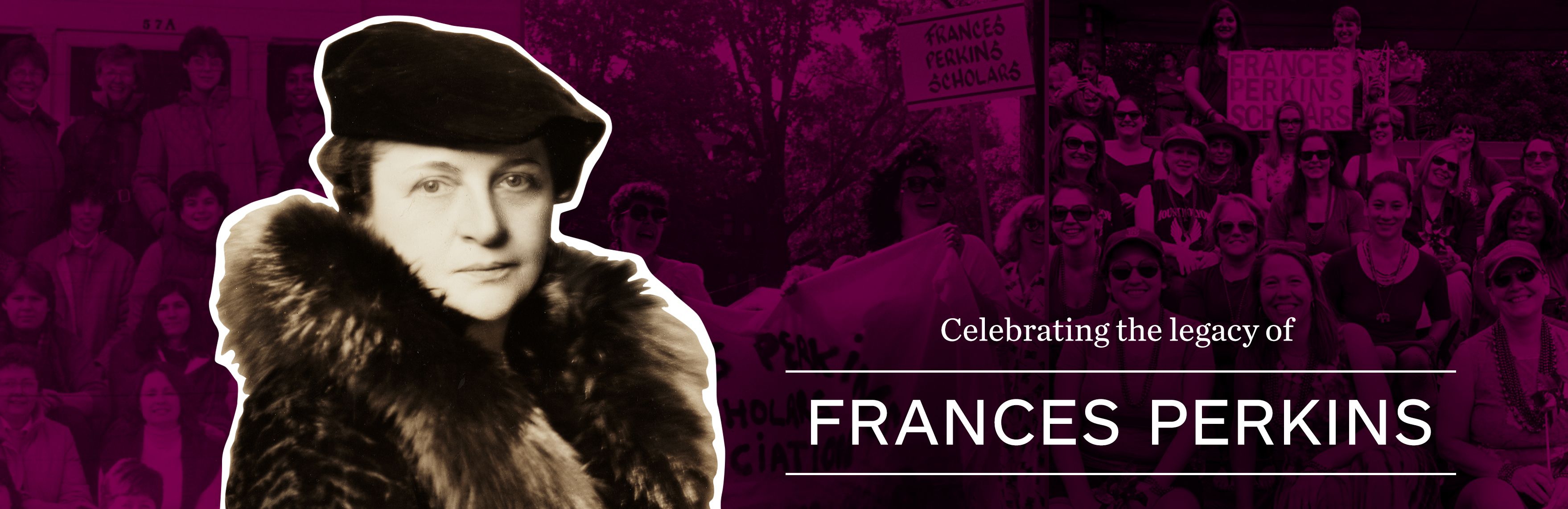 Celebrating the legacy of Frances Perkins, Class of 1902