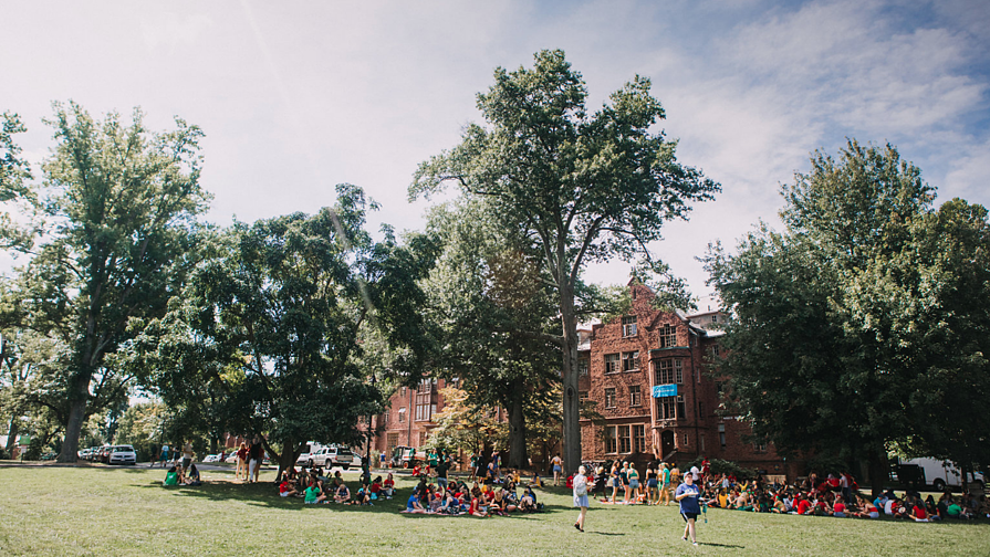 Picnic on Skinner Green, Convocation 2018
