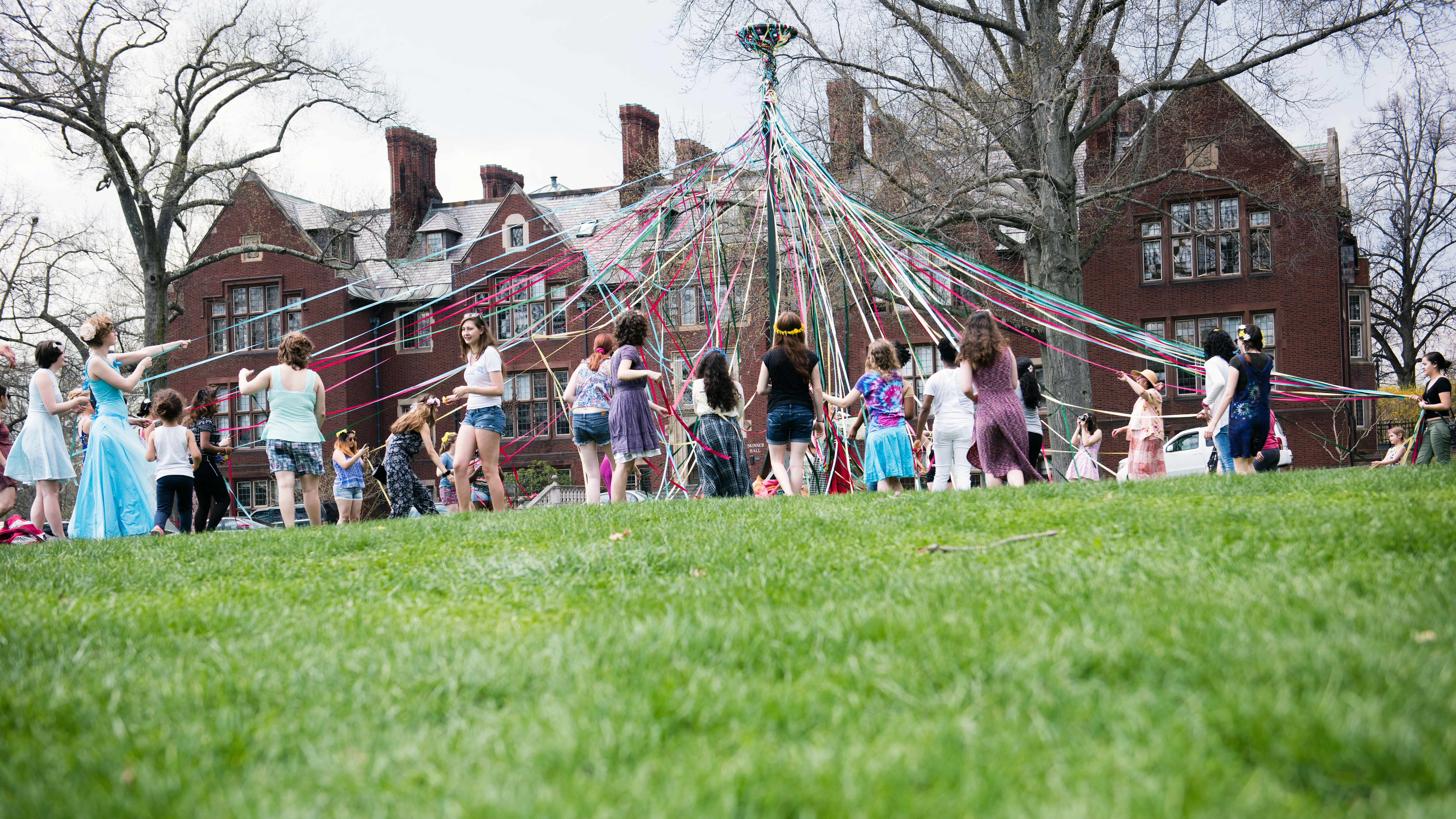 MHC students take part in Pangy Day festivities