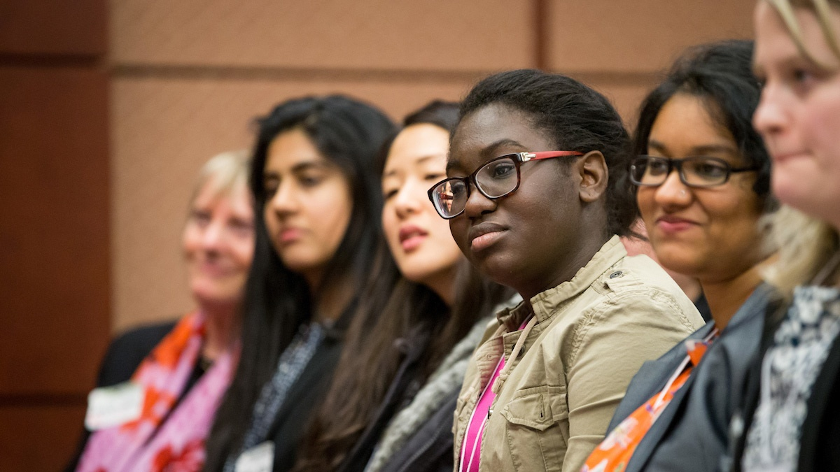Students attend the Careers in Public Service conference