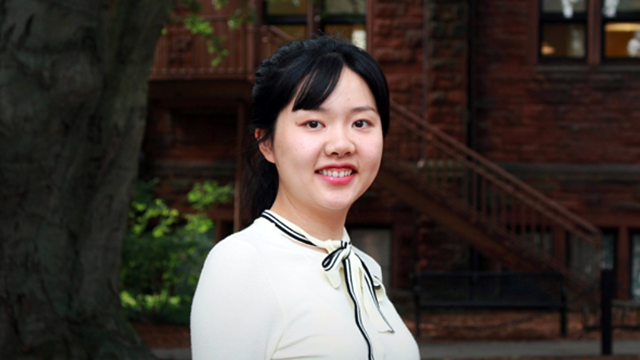 Sizhen Fang '18, Cornell University research assistant
