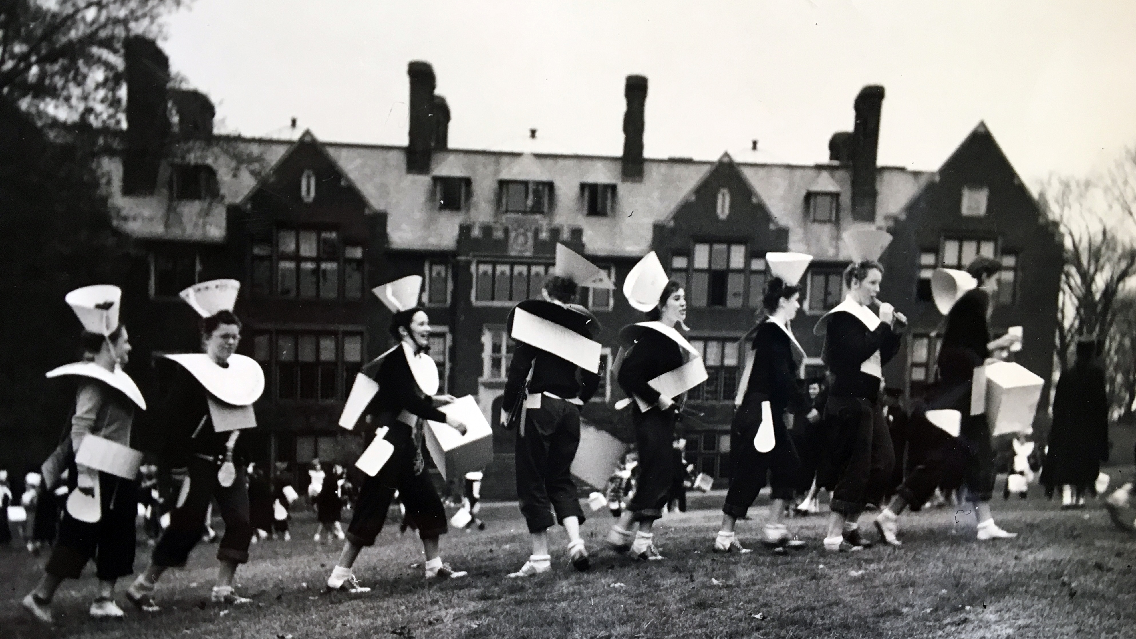 The class of 1951's Hazing Day