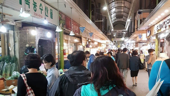 Night two in Seoul: exploring the late night food markets