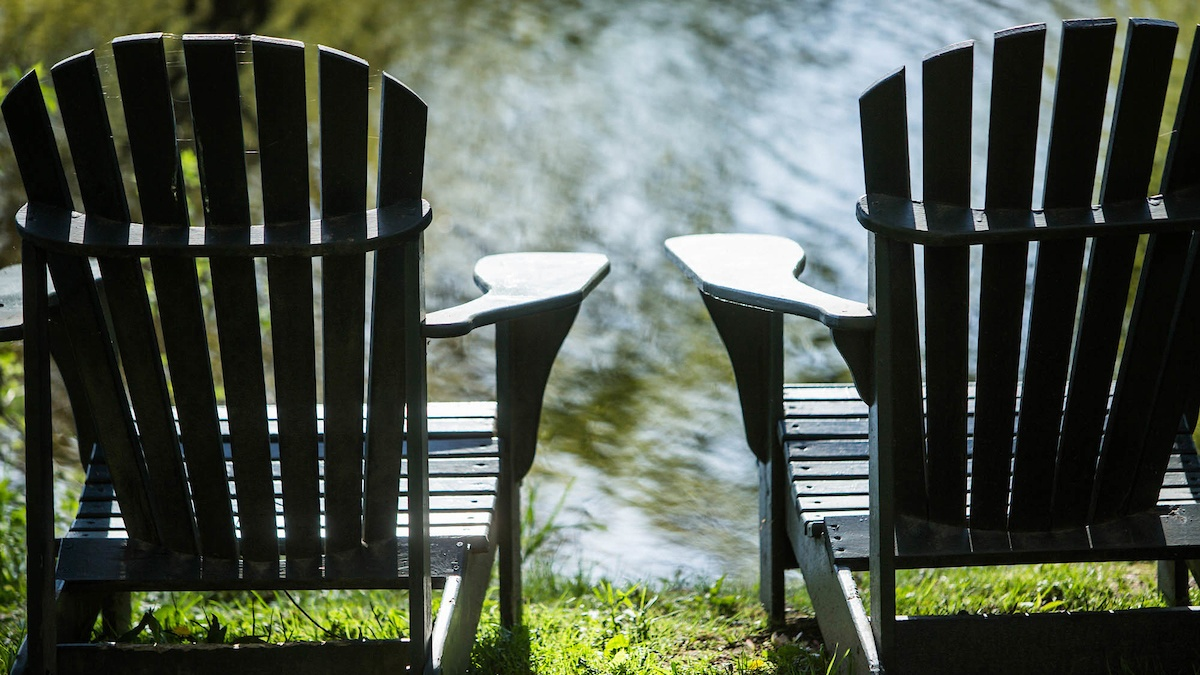 The Adirondack chair: a Mount Holyoke staple