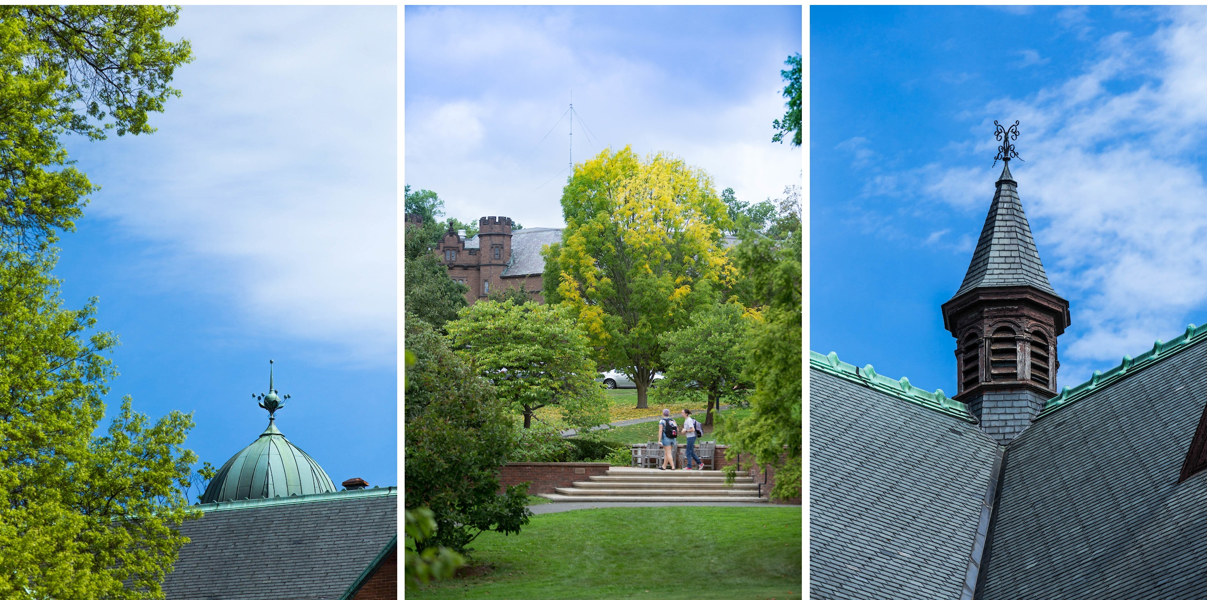 Skyward bound, Mount Holyoke campus
