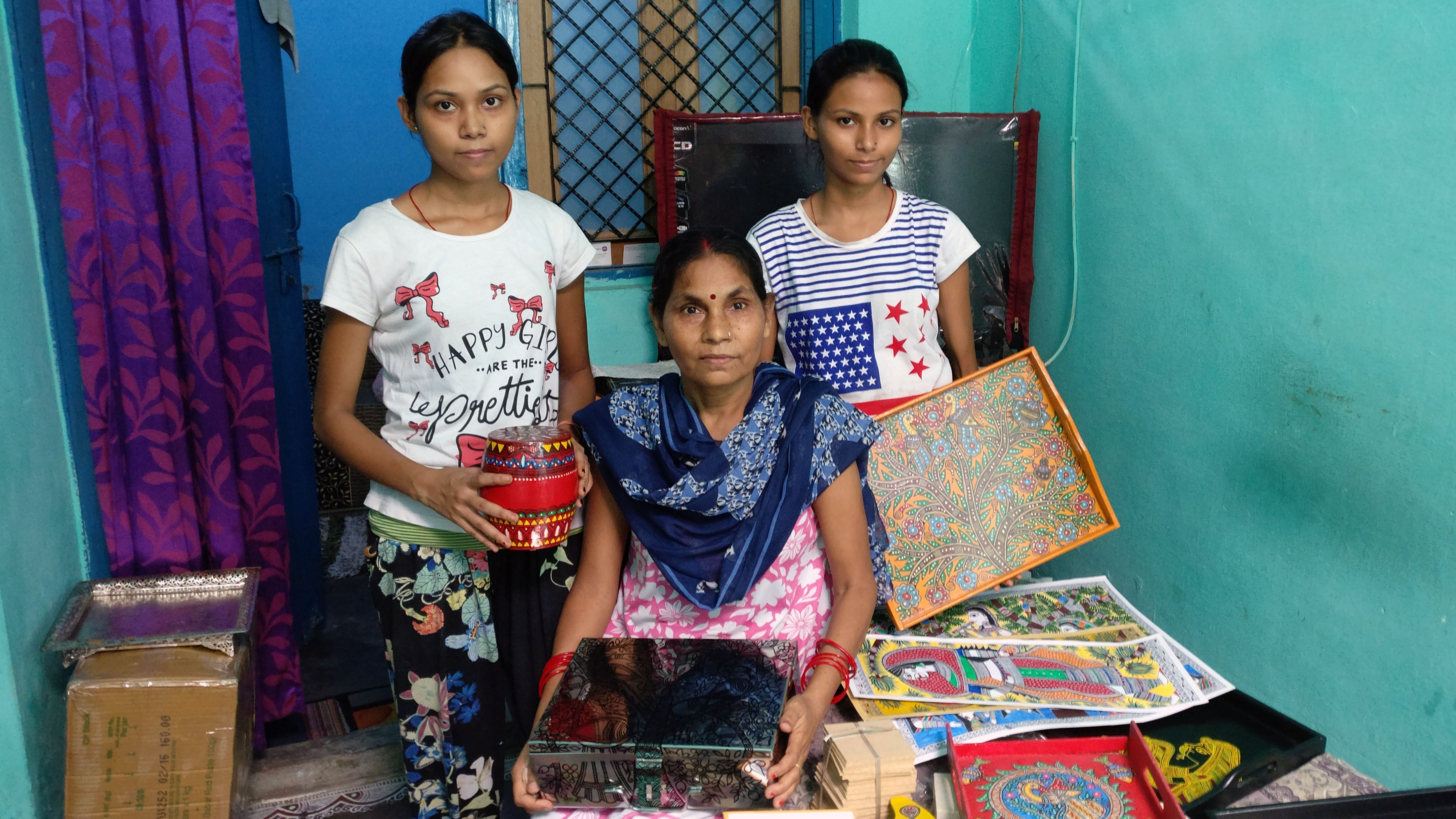 Artisans and friends and the art we love: Madhubani painting