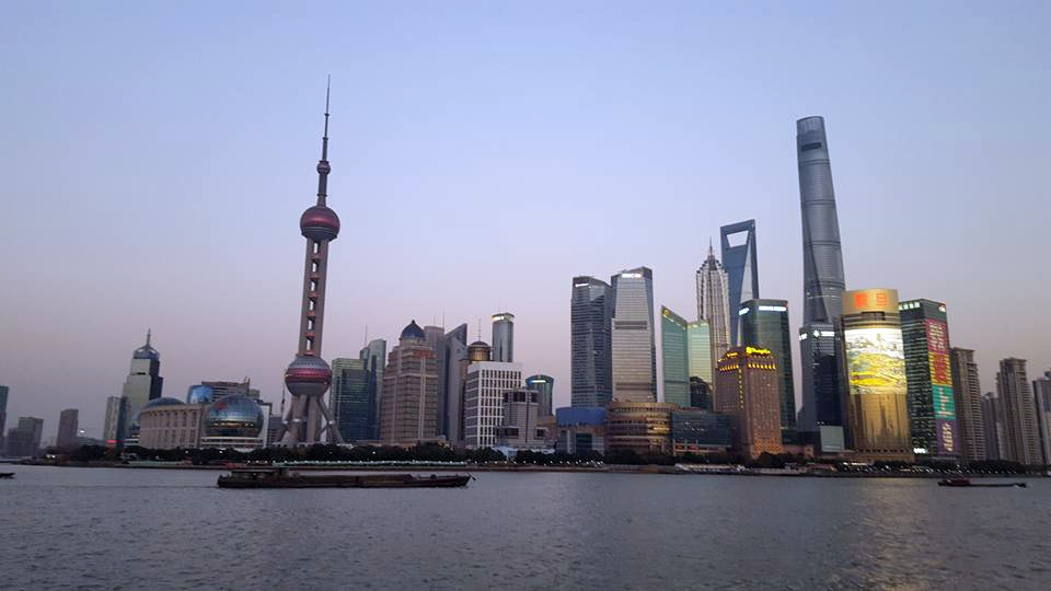 Spring 2017: studying abroad in Shanghai, China
