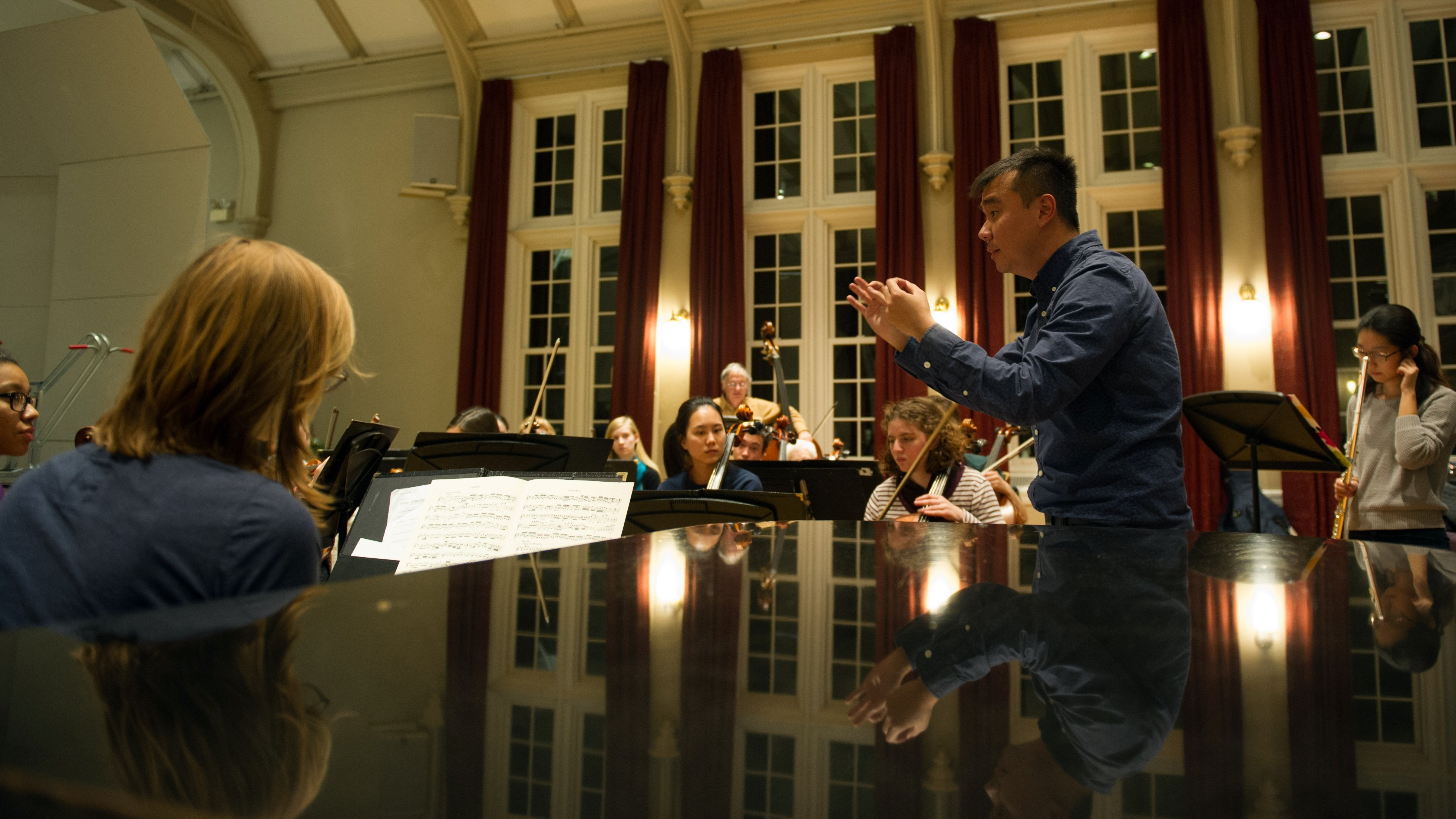 Ng Tian Hui, director of orchestral activities and lecturer in music
