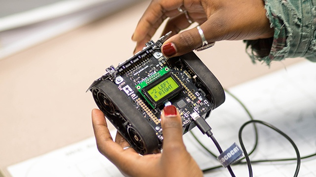 The Makerspace: a launch pad to the future
