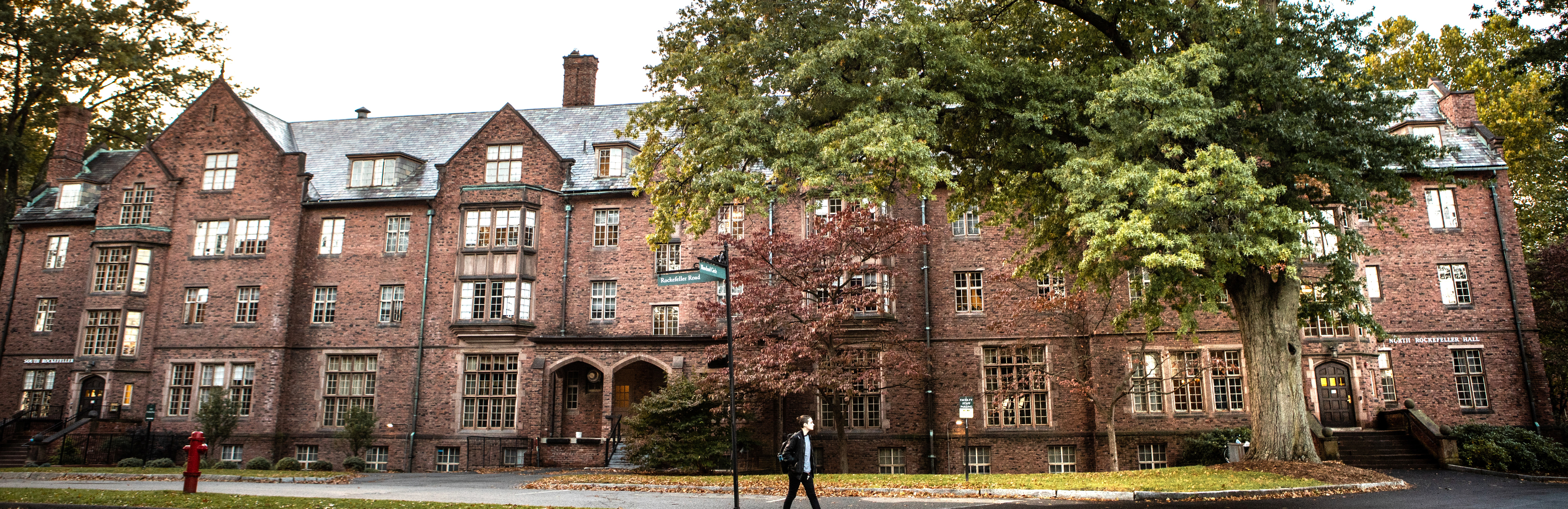 North and South Rockefeller Halls on the Mount Holyoke College campus