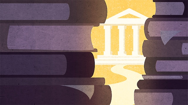 A step-by-step guide to applying to law school