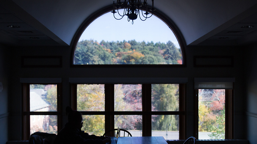 A love letter to Mount Holyoke: the windows that watch us