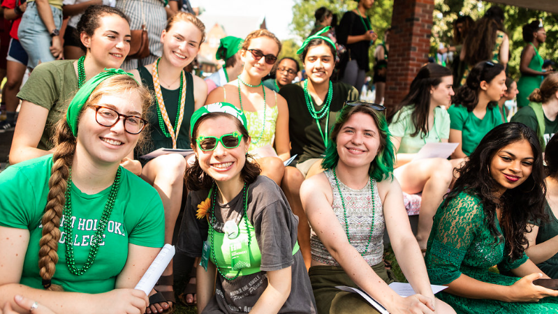 Green on the scene, Convocation 2018
