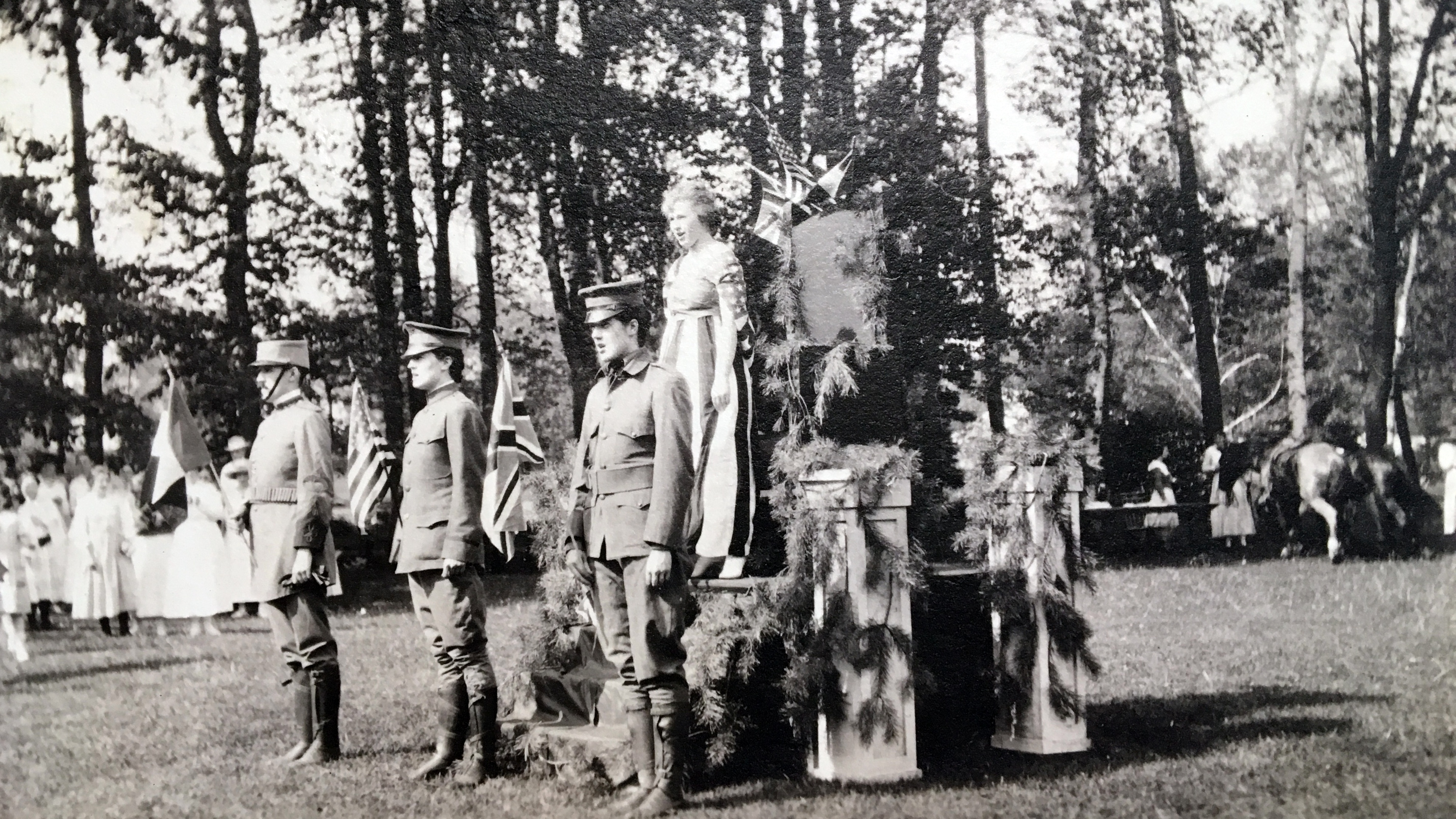May Day pageant, 1917