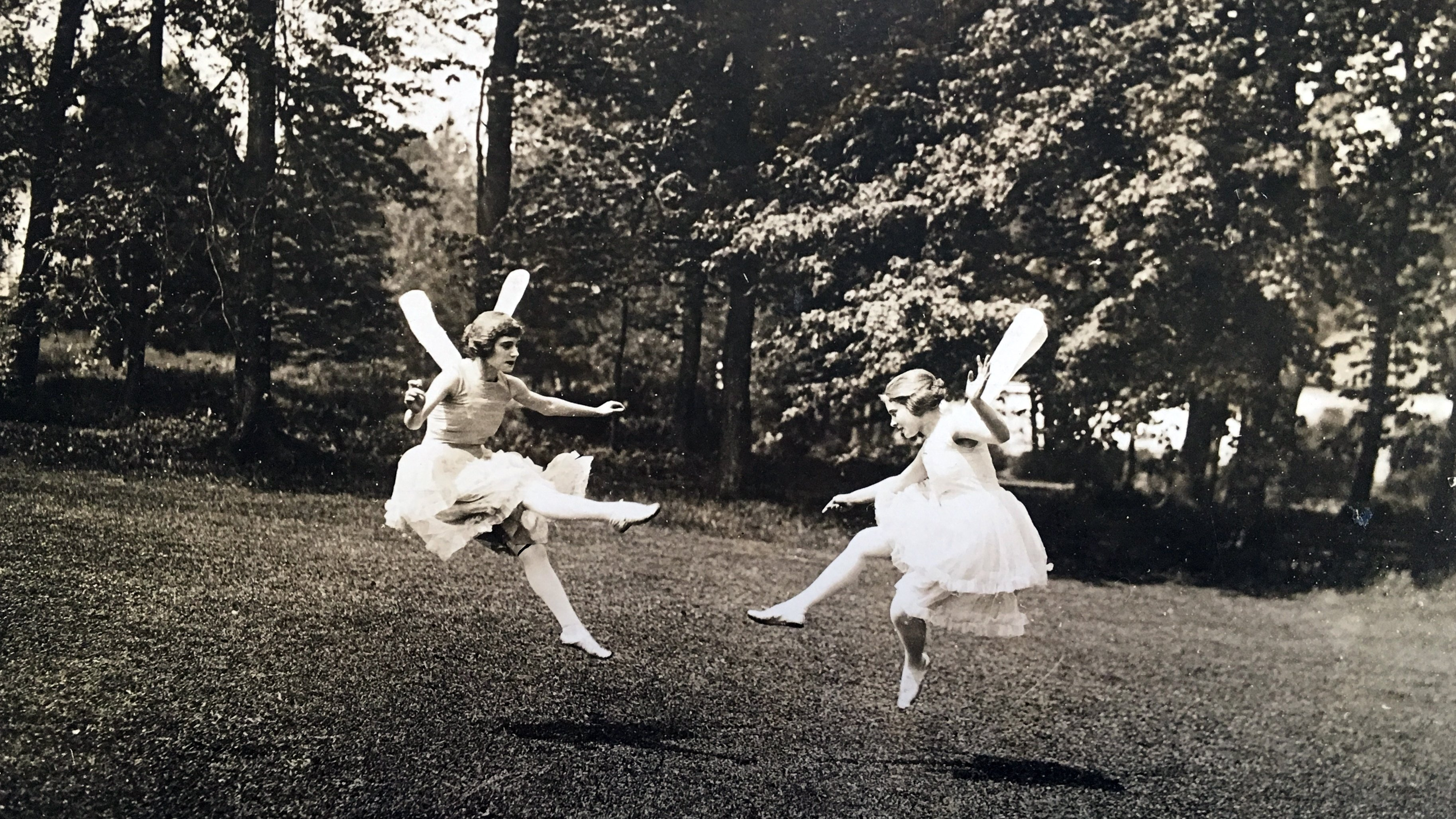May Day fairies take flight, 1921