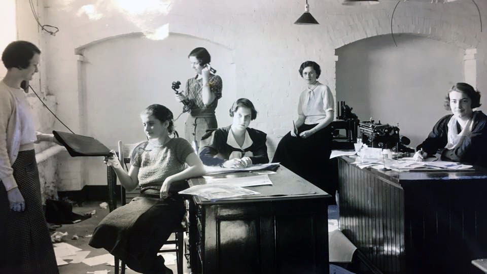 Mount Holyoke News staff, circa 1935