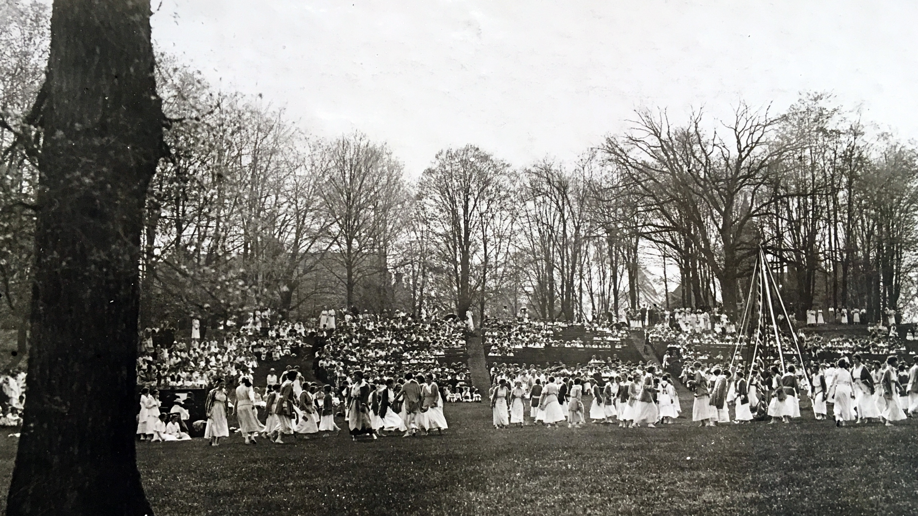 May Day crowd, 1917